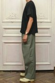 "画像10: Cristaseya "" Cotton Pleated Summer Trousers "" col.Light Petrol"