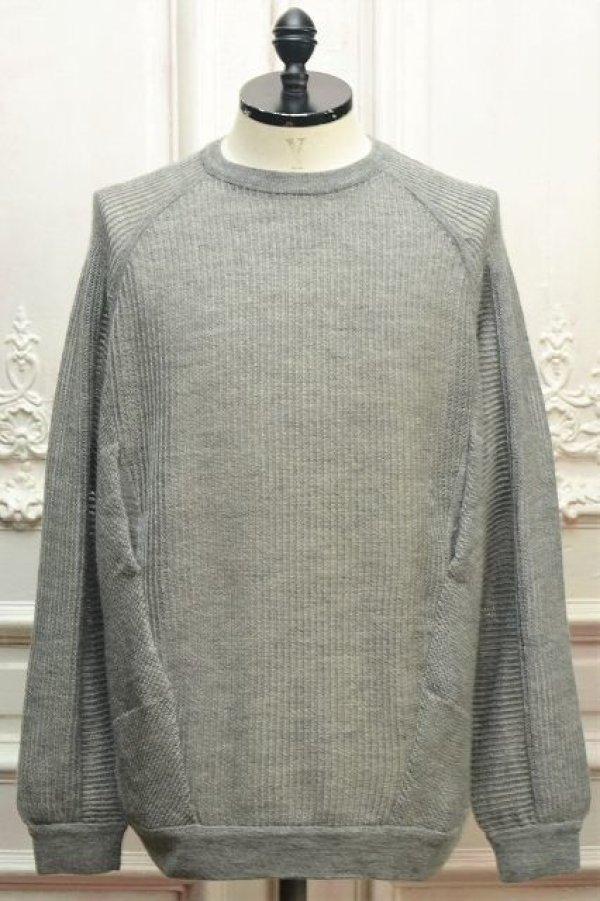 """画像1: ACRONYM """" Cashllama Silk Mesh Crewneck Sweatshirt """" col.Gray"""