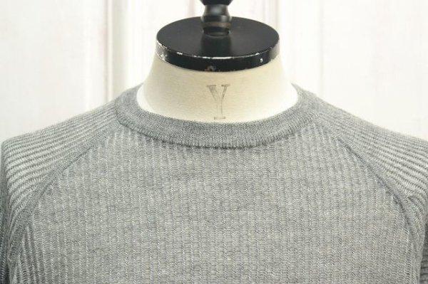 """画像2: ACRONYM """" Cashllama Silk Mesh Crewneck Sweatshirt """" col.Gray"""