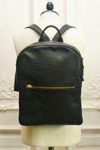 "CORIU "" Zipped Backpack "" col.Black"