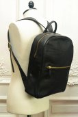 "画像2: CORIU "" Zipped Backpack "" col.Black (2)"