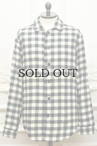 "CASEY CASEY "" PYJ Shirt - Wool Check "" col.Check"
