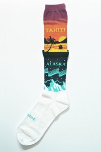 "doublet "" 2 Layered Socks "" col.Temperature"