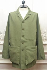 "toogood "" THE PHOTOGRAPHER JACKET - WOOL-COTTON DRILL "" col.LICHEN"