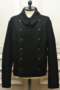 "toogood "" THE SOLDIER JACKET - LAMBSWOOL FELT HW "" col.FLINT"