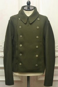 "toogood "" THE SOLDIER JACKET - LAMBSWOOL FELT HW "" col.FOREST"
