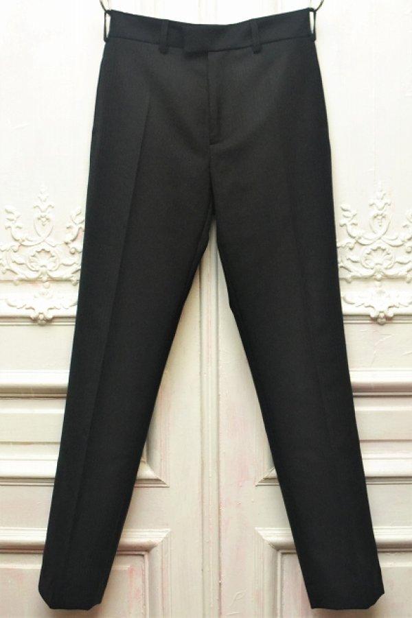 """画像1: 3MAN """" Suit Trousers """"  col.Black"""
