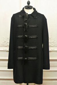 "toogood "" THE REEFER COAT - GIANT TOGGLE "" col.FLINT"