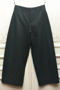 "toogood "" THE WRITER TROUSER - WOOL COTTON DRILL "" col.NIGHT"