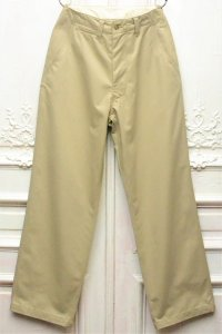 "E.Tautz "" FIELD TROUSERS - WIDE "" col.KHAKI"