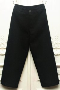 "toogood "" THE BRICKLAYER TROUSER - WOOL COTTON DRILL "" col.FLINT"