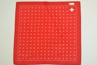 "GLARNER TUECHLI "" Swiss Cross Bandana "" col.Red"