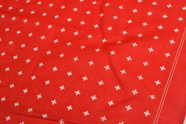 "画像2: GLARNER TUECHLI "" Swiss Cross Bandana "" col.Red"