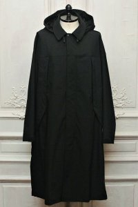 "O- (0-CHO-RUI.LAB) "" SOFTSHELL OVER COAT  "" col.Black"