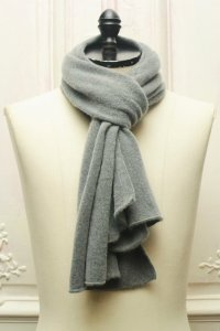 "RIVIERA "" Cashmere stall "" col.Light Grey"