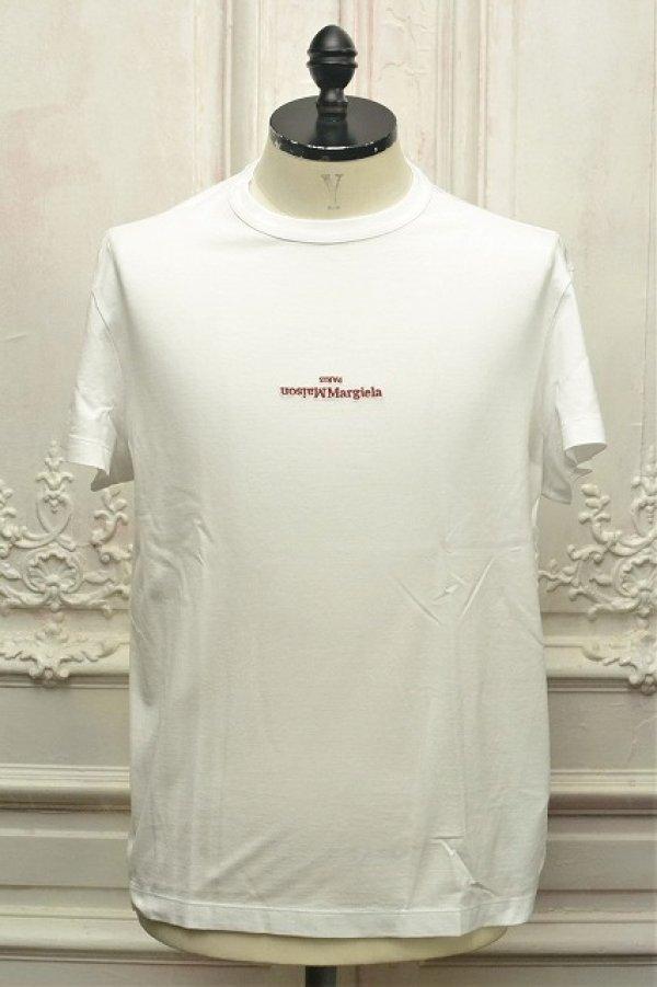 """画像1: Maison Margiela """" Mako Cotton Jersey T-Shirt """" col.100(White)"""