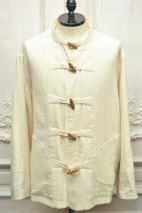 "Cristaseya "" Japanese Triple Gauze Patched Jacket  "" col.White"