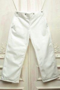 "TUKI "" snap pants "" col.white(00)"