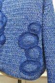 """画像8: amachi. """"  Caillois's  Aate Knit  """" col.Majorelle Blue"""