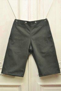"TUKI "" snap shorts "" col.steel blue(34)"