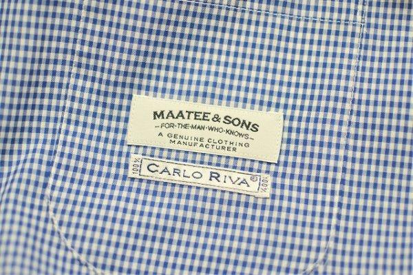 """画像5: MAATEE&SONS """" 3B  Work Jacket - mathematics exclusive  """" col.Blue White Checkered"""