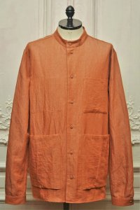 "toogood "" THE LOCKSMITH SHIRT - LINEN COTTON DRILL "" col.CLAY"