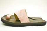 "JUTTA NEUMANN "" Alice Square - Leather Sandals "" col.Pink Calf Hair"