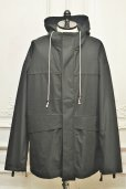 "画像1: CAMIEL FORTGENS "" POST JACKET - COTTON ""  col.Black (1)"
