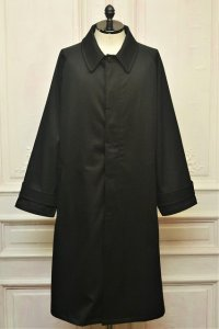 """Cristaseya  """" Over Sized Trench With Leather Patch """" col.Black"""