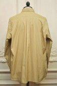 """画像4: Cristaseya  """" Over Sized Classic Collar Shirt """" col.Beige Stripes (4)"""