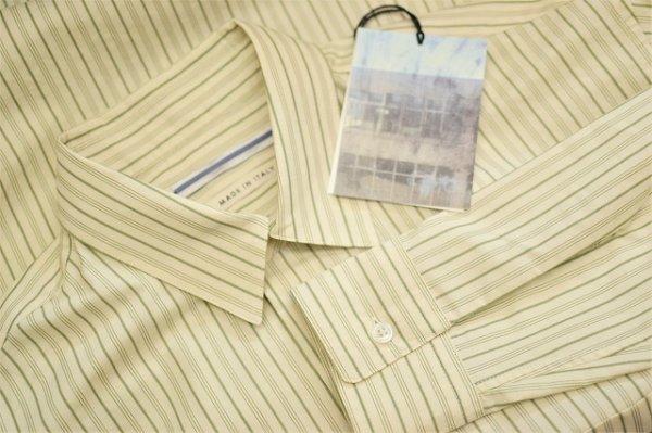 """画像5: Cristaseya  """" Over Sized Classic Collar Shirt """" col.Large Sauge Stripes"""