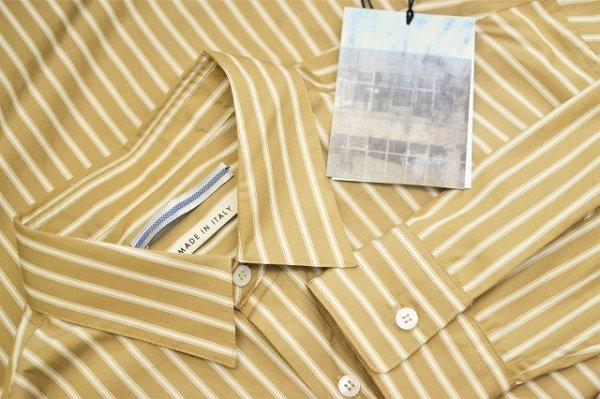 """画像5: Cristaseya  """" Over Sized Classic Collar Shirt """" col.Beige Stripes"""