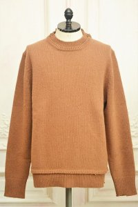 """Maison Margiela """" Elbow Patch Sweater """" col.113(Brown)"""
