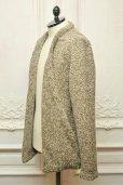 """画像3: TENDER CO. """" Purl Edge Folded Front Cardigan - Wool Donegal  """"  col.Plane"""