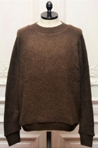 "The Elder Statesman "" Regular Sweater "" col.CIGAR"